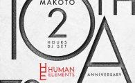 "Human Elements ""10th Anniversary"" 7.9.2016 (Sat) @ Zero, Aoyama, Tokyo Line up: Makoto Velocity DJ […]"